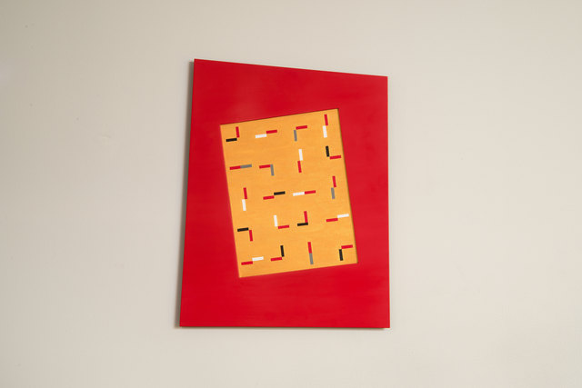, 'Yellow, Red, and Red (KV),' 2015, Wirtz Art