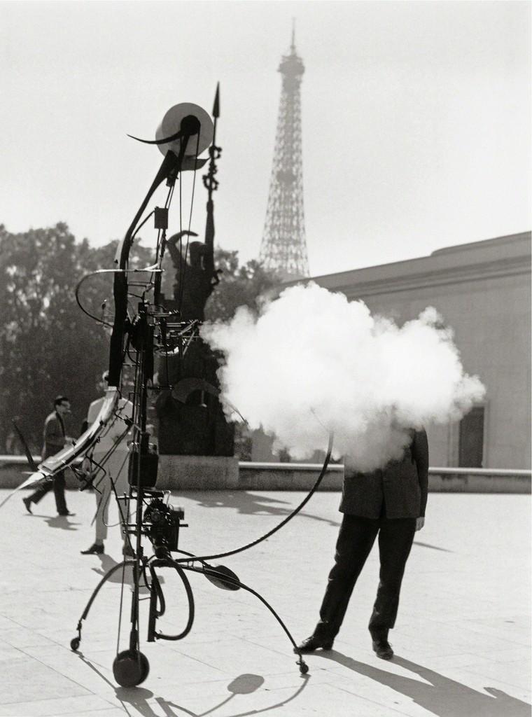 Robert Doisneau, 'Jean Tinguely - Portrait de l'artiste (Jean Tinguely - Portrait of the artist),' 1959, Musée Rodin