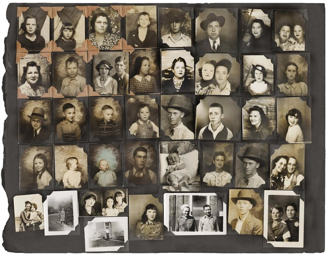 , 'Untitled [Photobooth Portrait Album Page],' ca. 1935, The Walther Collection