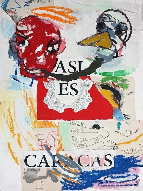 , 'Asi es Caracas,' 2017, Galerie Heike Strelow
