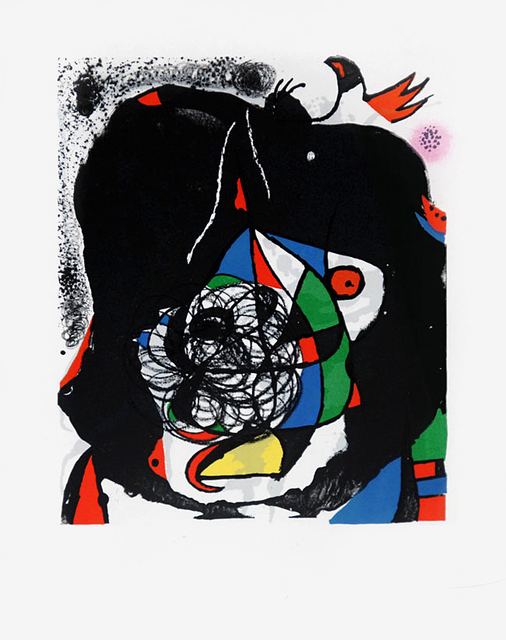 Joan Miró, 'Les Revolutions Sceniques du Xxe Siecle - 1', 1975, Melissa Morgan Fine Art