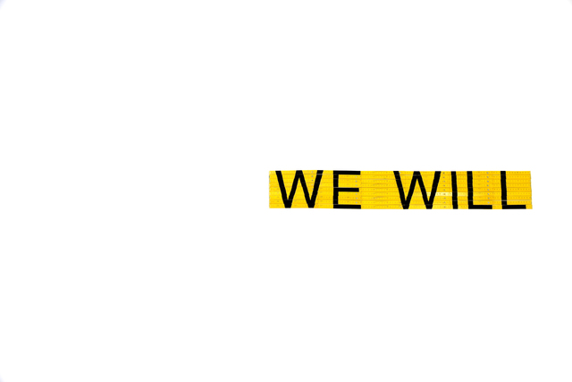 , 'We Will,' 2014, Max Estrella