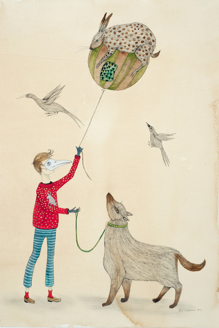 , 'Balloonist,' 2012, Bluerider ART