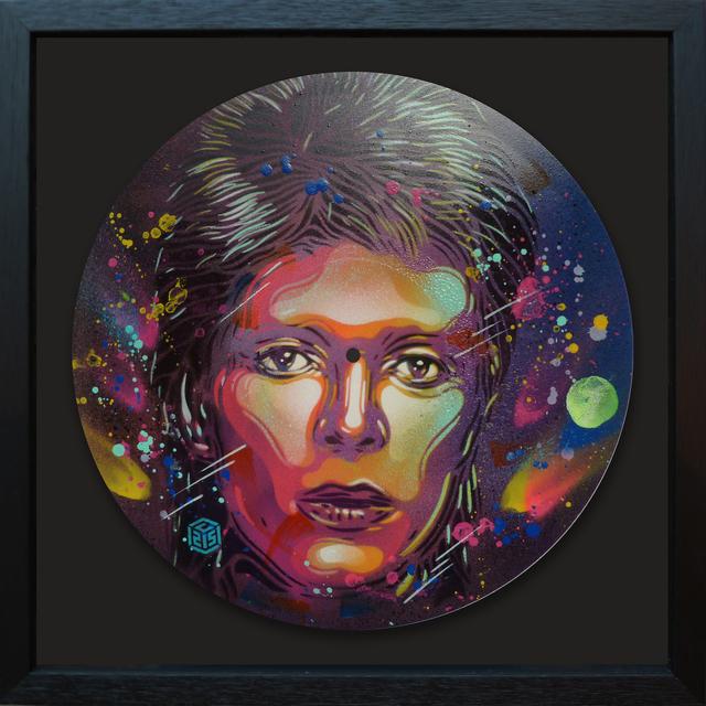 , 'David Bowie,' 2017, StolenSpace Gallery