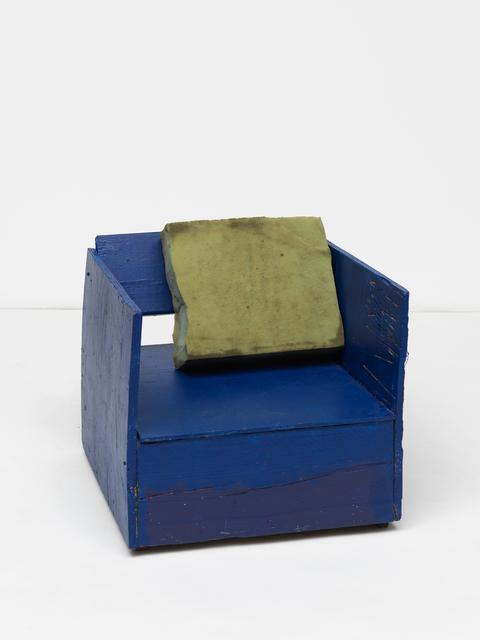 , 'antifoul armchair,' 2016, Maccarone