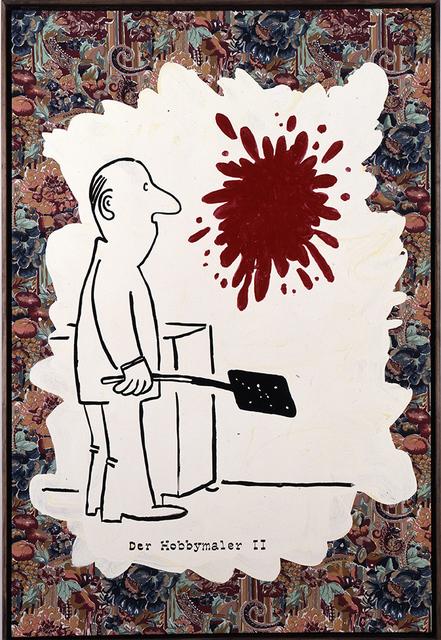Achim Duchow, 'Hobbymaler II', 1991, SETAREH