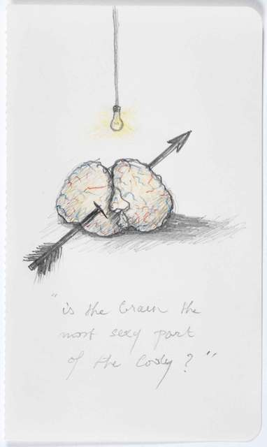 , 'Is the brain the most sexy part of the body?,' 2007, Magazzino