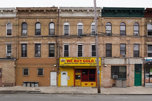 , 'Lilly's Gold Exchange, Brownsville, New York,' 2013, Pace/MacGill Gallery