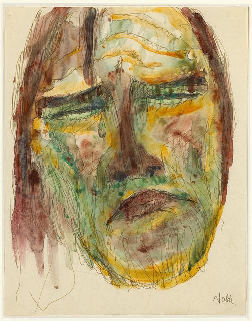, 'Apostelkopf (Head of an Apostle),' 1909, Galerie Herold