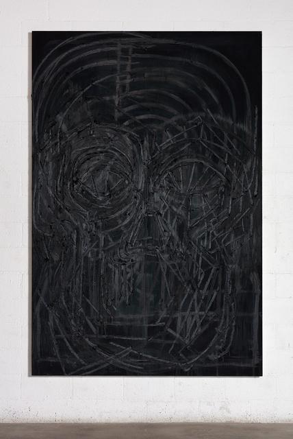 , 'Black Painting 8,' 2016, Gagosian