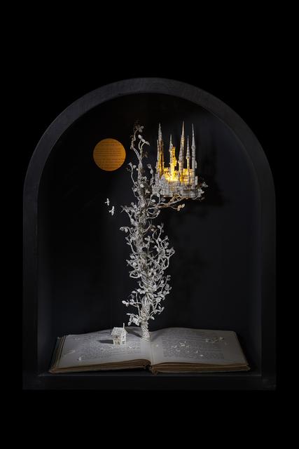 Su Blackwell, 'The Beanstalk', 2018, Sculpture, Book cut sculpture in wooden case, Long & Ryle