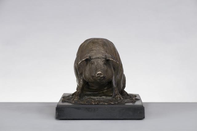 , 'Bronze figure of a pig,' ca. 1800, Brun Fine Art