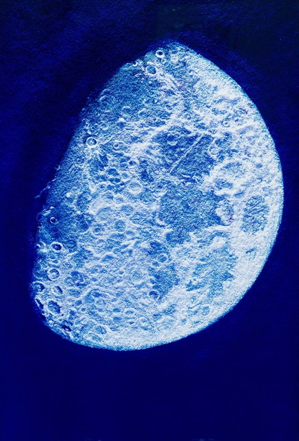 , 'The Face of the Moon, after John Russell (Pictures of Pigment Series),' 2007, Larsen Gallery