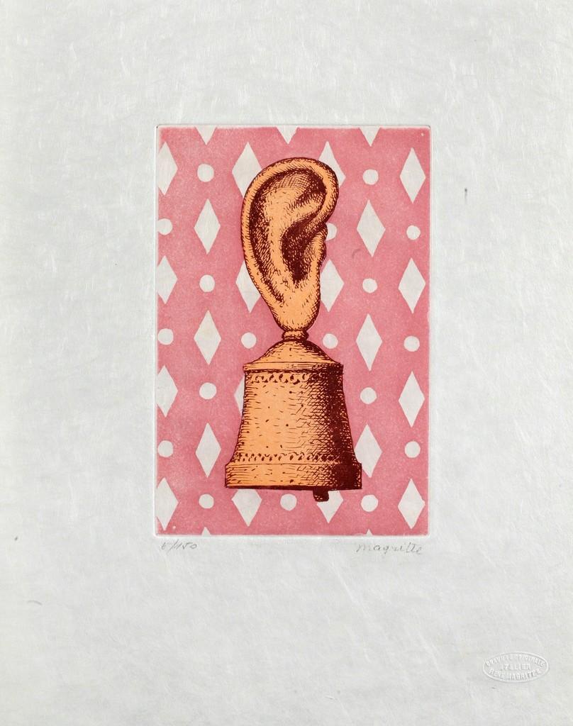 René Magritte La Le§on De Musique 1968