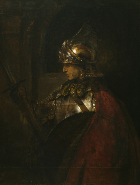 , 'A Man in Armour (Alexander the Great?),' 1655, The National Gallery, London