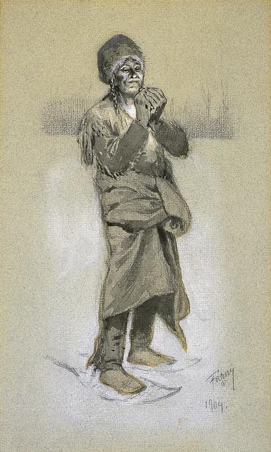 , 'Smoke Makes Rest,' 1904, Blanton Museum of Art