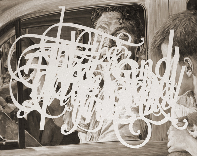 Eric White, 'The End (A Face in the Crowd)', 2013, Gallery Poulsen
