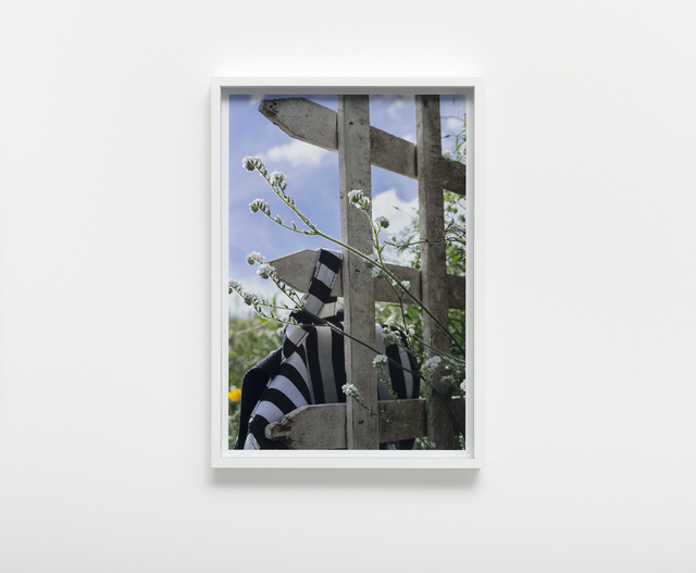 , 'Fence Study no. 4,' 2017, Nils Stærk