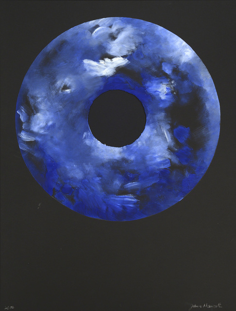 , 'Blueberry Moon With Coconut Sugar,' 2016, Olivia Connelly