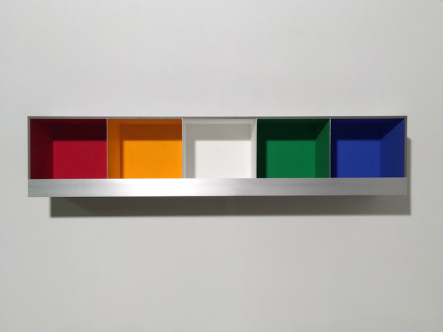 , '5 Colour Boxes,' 2016, Bartha Contemporary