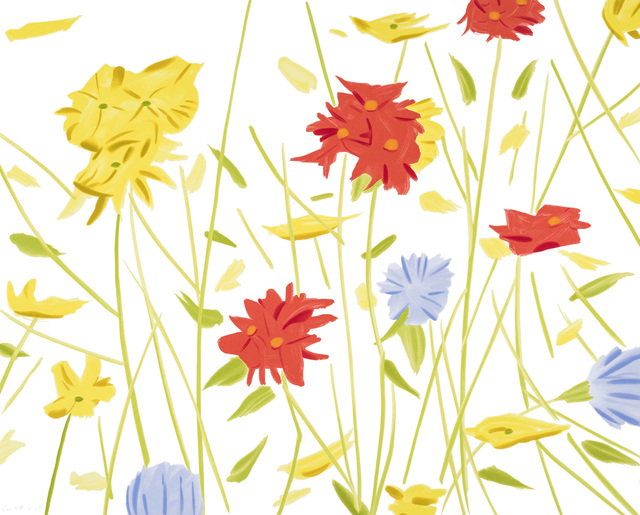Alex Katz, 'Wildflowers', 2017, Meyerovich Gallery