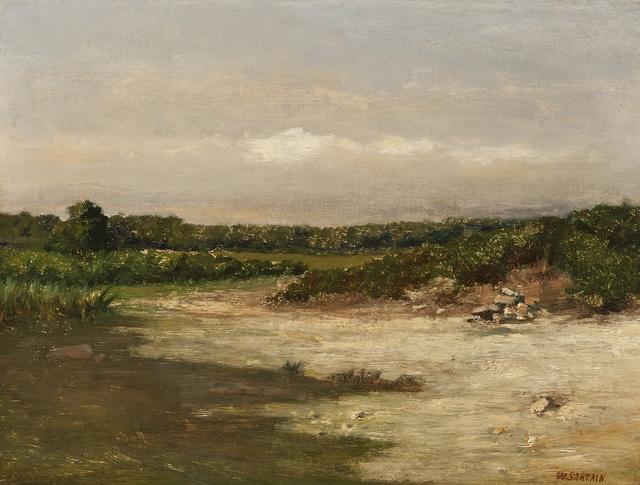 William Sartain, 'Nonquit', ca. 1900, Private Collection, NY