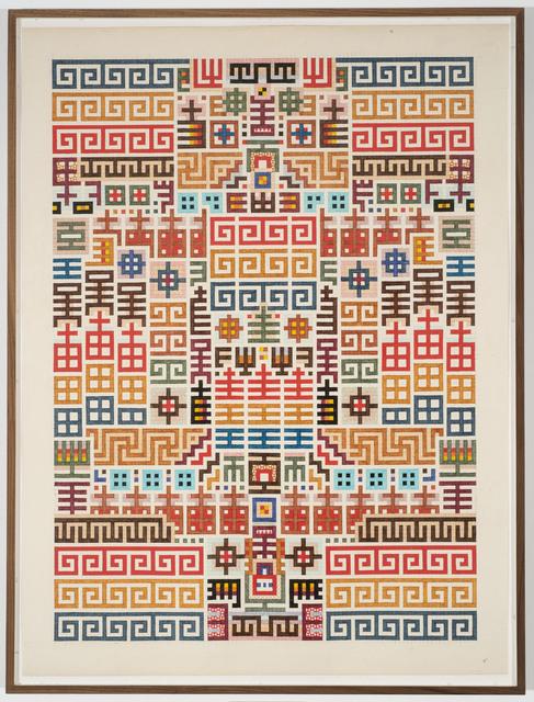 Matthew Craven, 'motifs', 2018, Asya Geisberg Gallery
