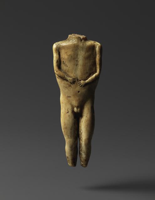 , 'TORSO (E4266),' 100 -300 AD, Donald Ellis Gallery
