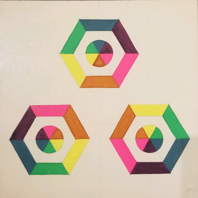 , 'Optical Shapes #5,' 1969, Turner Carroll Gallery