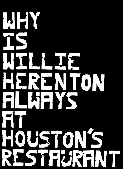 , 'Why is Will Herenton always at Houston's Restaurant ,' 2017, David Lusk Gallery