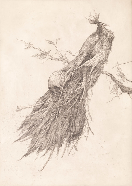 , 'Peacock I,' 2018, Kunstverket Galleri