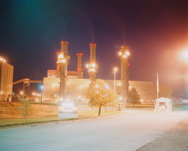 , 'North Omaha Power Station, Omaha, NE,' 2005-2018, Huxley-Parlour