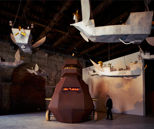 , 'Voyage (Installation view),' 2015, 56th Venice Biennale