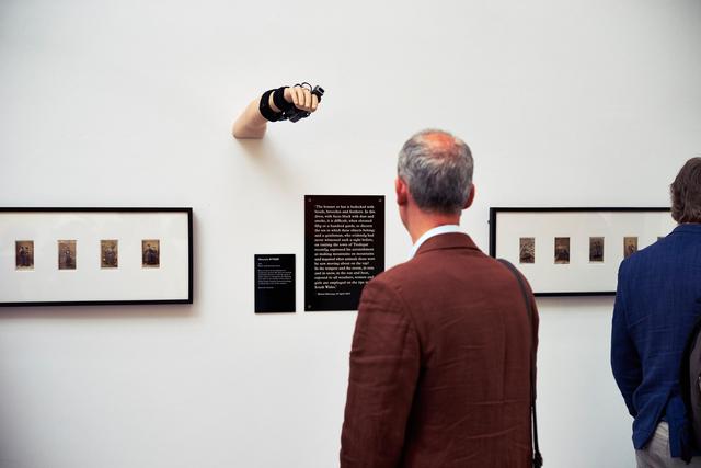 , 'Motorola WT4000 (Installation view),' 2013, 56th Venice Biennale