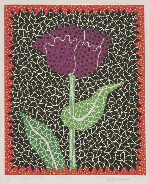 Yayoi Kusama, 'Tulipe (I) (Kusama 290)', 2000, Print, Screenprint in colours, Sworders