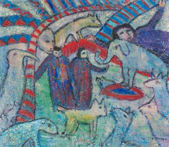 , 'Entwined Metaphors XVI,' 2009, Walter Wickiser Gallery