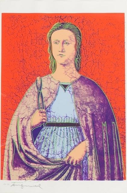 Andy Warhol, 'Saint Apollonia', 1984, Aste Boetto