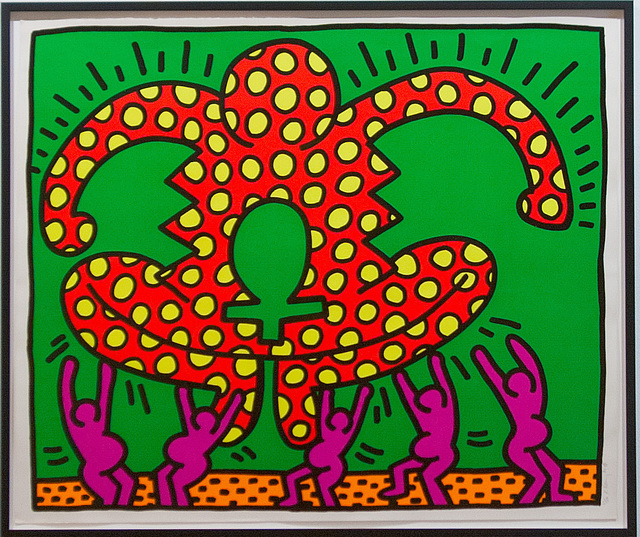 Keith Haring, 'Fertility Series, single print', 1983, PLUTSCHOW GALLERY