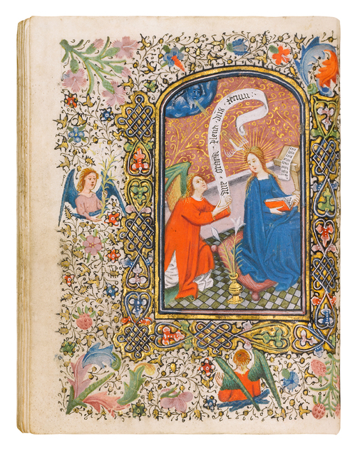 , 'Book of Hours, use of Rome,' 1430-1440, Dr. Jörn Günther Rare Books