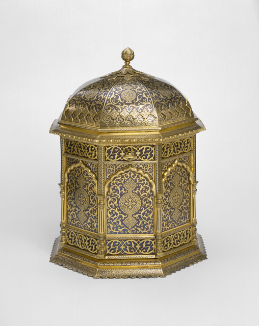, 'Casket made in Sialkot, Punjab (now Pakistan),' ca. 1880, Bard Graduate Center Gallery