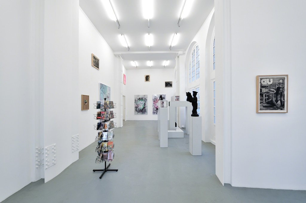 Exhibition view at Galerie Mitterrand, 2015. Copyright Jonah Freeman & Justin Lowe, Courtesy Galerie Mitterrand, Photo Rebecca Fanuele.