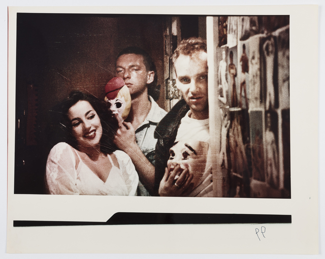 , 'Nymph-O-Maniac Promo Still Spectacular Studios (Pia, Richard, Nathan),' 1984, Alexander and Bonin