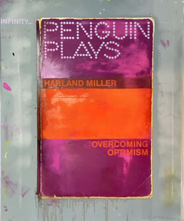 Harland Miller, 'OVERCOMING OPTIMISM', 2016, Galerie Maximillian