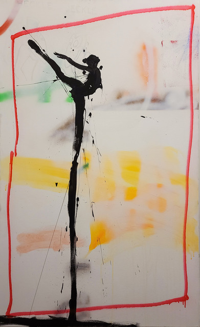 Michael Gorman, 'Jeckle', 2021, Painting, Mixed media on paper (framed), Axiom Contemporary