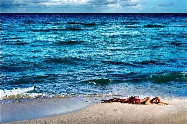 David Drebin, 'Mermaid In Paradise II', Art Angels