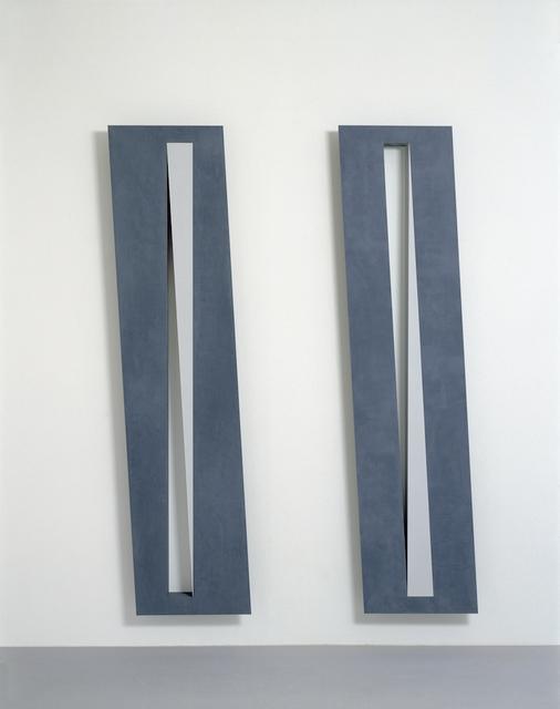 , 'untitled theme: diagonal slice,' 1995, Edition & Galerie Hoffmann