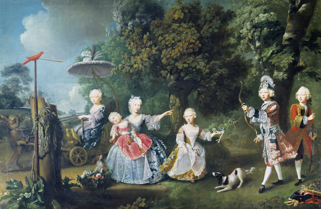 , 'The Children of Frederick, Prince of Wales,' 1746, Royal Collection Trust