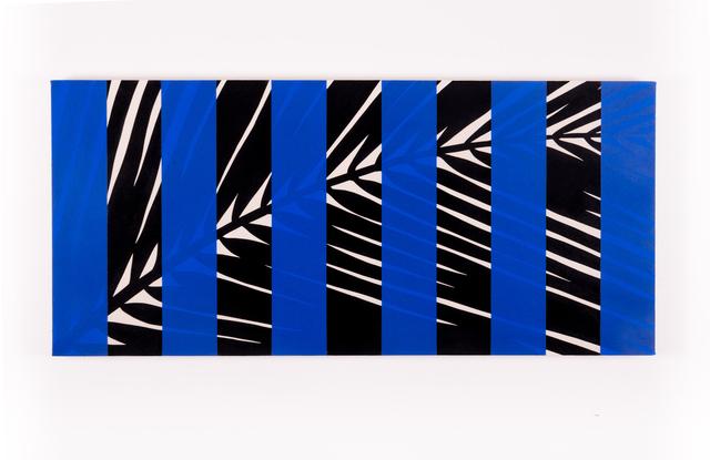 , 'Arecaceae (Blue),' 2016, Instituto de Visión