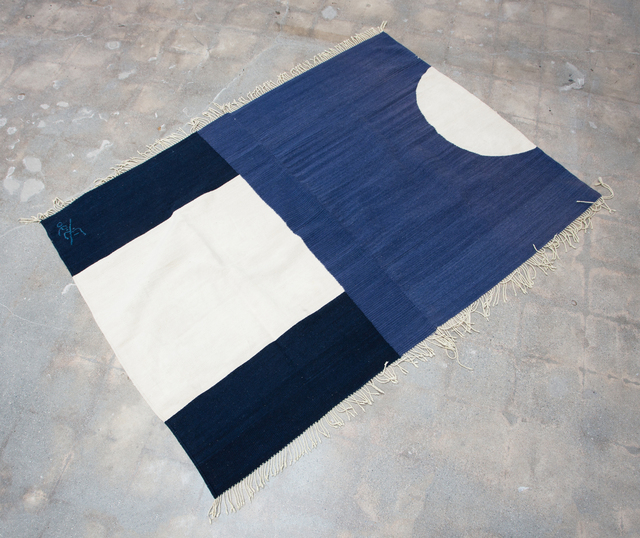 , 'Oaxacan Blanket,' 1990, VARIOUS SMALL FIRES