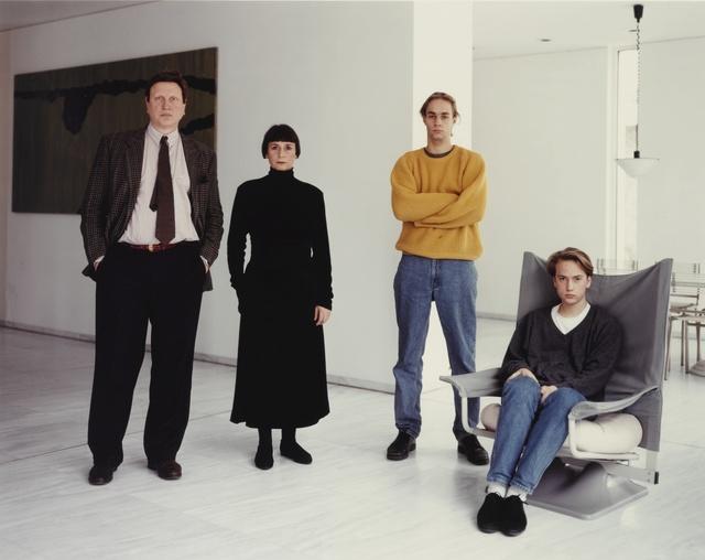 Thomas Struth, ''The Schäfer Family, Düsseldorf'', 1990, Sotheby's